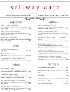 Customize East Cafe Menu - edit menu with dishes and ingredients students have learned