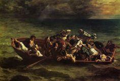 Eugène Delacroix, Le naufrage de Don Juan (1841)