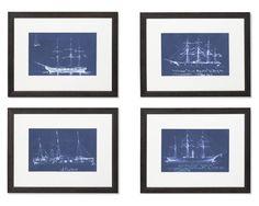 Boat Blueprints | Williams-Sonoma (Matthew's Room)