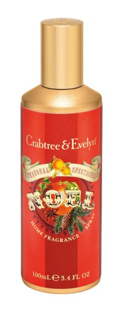 Fresh, scented air reminiscent of holidays past. There's nothing quite like it to make the season extra special. Our Noël Home Fragrance Spray infuses the most cherished of spaces with a fragrant burst of warm mulling spices, fruity persimmon, and fresh-scented balsam. Just one spritz and it's pure splendor.