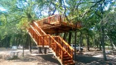 An open deck tree pl