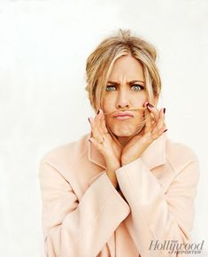 """Jennifer Aniston Discusses Brad Pitt, Her """"Critical"""" Mom, Dealing With Dyslexia and Whether She'll Have Kids  Jennifer Aniston, The Hollywood Reporter"""