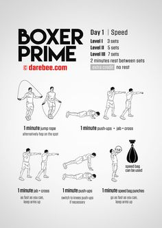 Boxer Prime: 30-Day Fitness Program | Training | Pinterest ...