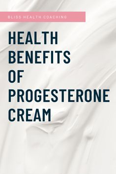 Do you know how progesterone cream can benefit your health? Find out if you need progesterone cream and what it can do for your migraines, brain fog, hormone issues and weight gain. #progesterone #progesteronecream #womenshealth Women's Health, Health Coach, Health Benefits, Health And Wellness, Mental Health, Health Tips, Deal With Anxiety, Weight Gain