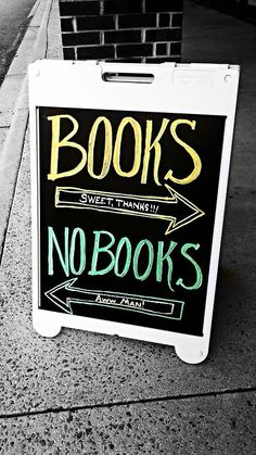 Brooklyn, NY | 15 Hilarious Bookstore Chalkboards