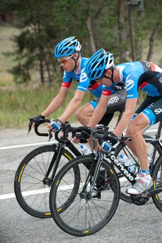 2012 USA Pro Challenge - Danielson and Stetina Garmin's Tom Danielson and Peter Stetina drove the break all day. Photo: Casey B. Gibson | www.cbgphoto.com