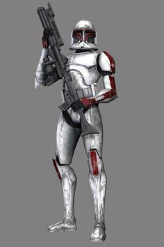 Différents types de StormTroopers - La boite verte