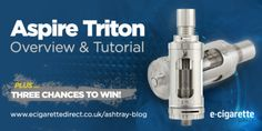 Aspire Triton Giveaway: Enter In Seconds