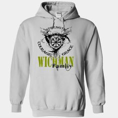 WICHMAN Family - Strength Courage Grace, Order Here ==> https://www.sunfrog.com/Names/WICHMAN-Family--Strength-Courage-Grace-sdhhuikrws-White-51312802-Hoodie.html?9410 #birthdaygifts #xmasgifts #christmasgifts