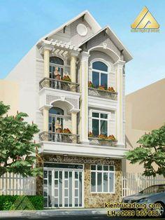 Mẫu thiết kế kiến trúc nhà phố đẹp sang trọng http://www.kientrucadong.com/mau-thiet-ke-kien-truc-nha-ong-hien-dai-688-104.html