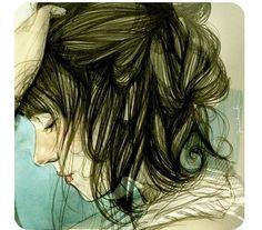 Kai Fine Art is an art website, shows painting and illustration works all over the world. Fashion Illustration Face, Illustration Girl, Amazing Drawings, Amazing Art, Adara Sanchez, Paula Bonet, Beautiful Sketches, Art For Art Sake, Weird Art