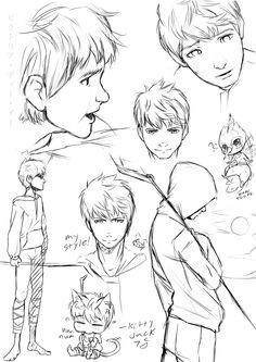 random Jack Frost sketches by kotorikurama.deviantart.com on @deviantART