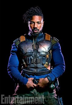 Black Panther movie is a top hit of 2018 and Michael B Jordan seen as Erik Killmonger and wore this Black Panther Michael B Jordan Vest . Avail it from Fit Jackets. Black Panther Marvel, Black Panther Character, Black Panther 2018, Fotos Tumblr Boy, Michael Bakari Jordan, Erik Killmonger, Dc Movies, My Hairstyle, Fotografia
