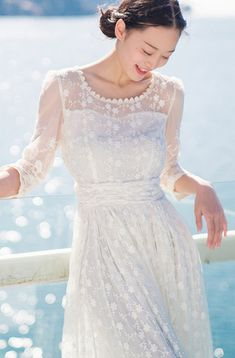 white-maxi-dress-lace-o-neck-bracelet-sleeved-summer-dress-embroidery-dress