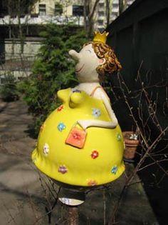 Keramikwerkstatt Gabi Winterl, Gartenfigur, Handarbeit