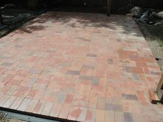 HOW TO LAY A BRICK PAVER PATIO   http://www.diynetwork.com/how-to/how-to-lay-a-brick-paver-patio/index.html#