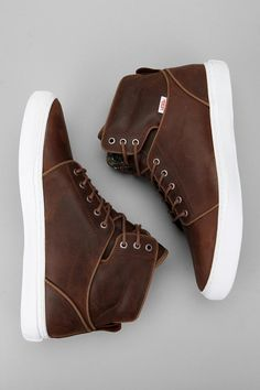 Damn these Vans are sick.... | vans alomar | chocolate brown hi top | the sporting gent