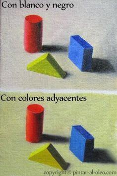 La Magia de aclarar y oscurecer colores en la pintura | Pintar al óleo