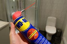 Fjern kalk med WD40 - Slik fjerner du kalk i dusjen svært effektivt - DinSide
