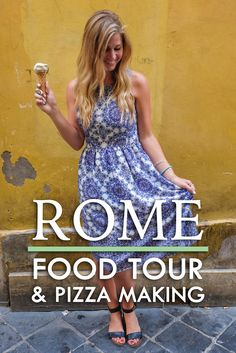 Rome is synonymous with many things, including a rich history, ancient Roman architecture, fast moving traffic and, of course, amazing food. While visiting Rome last summer, I joined Walks of Italy for a Rome food tour & pizza making, which, if you ask me, is the best way to discover a city!