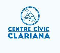Logotipo del Centre Cívic de Clariana diseñado por Root Studio www.rootstudio.es  #diseño #design #identidadcorporativa #logotipo #diseñográfico #graphicdesign