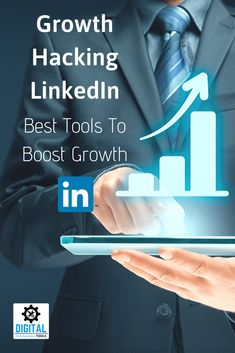 Growth Hacking LinkedIn - Click through to learn more about the best growth tools for your LinkedIn account, plus generate more business leads today. Content Marketing Strategy, Marketing Tools, Digital Marketing, Sales Prospecting, Customer Relationship Management, Growth Hacking, Competitor Analysis, Business Inspiration, Online Business