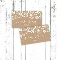 Wedding Place Cards, Table Cards & Escort Cards - Page 8
