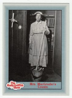 Andy Griffith Show Series 1 # 93 - Mrs. MacGruder's Cousin