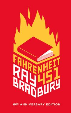 Fahrenheit 451 Book Covers by Sarah Suraci, via Behance