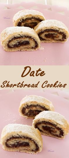 Date Shortbread Cookies. They're easy-to-make and DELICIOUS !!.  Can be made dairy-free - which is how I usually make them.  http://www.winnish.net/2011/07/1934/