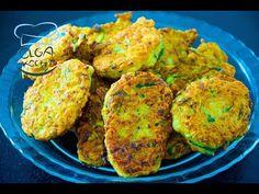 Zucchini Pfannkuchen / Oladi | Оладушки из кабачков - YouTube Russian Dishes, Zucchini Pancakes, Types Of Flour, Clarified Butter, No Carb Diets, Low Carb, Tandoori Chicken, Cake Recipes, Fries