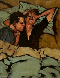 wonderful expressions and vintage feel Contemporary Art - Michael Carson, American Artist ~ Blog of an Art Admirer