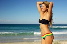 Rasta Bikini...yes please!