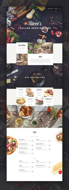 Faicco's Italian Restaurant by Virgil Pana (virgilpana@dribbble)