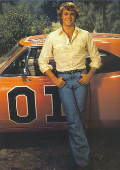 I always said my cousin Jacques looked just like John Schneider in his Dukes of Hazzard days. He could've totally been his doppelganger, only with darker hair.