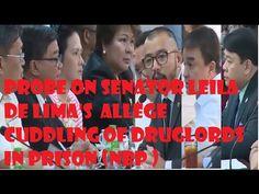 Probe On Senator Leila De Limas Allege Cuddling Of Druglords Philippine News, Video Channel, Prison, Cuddling, Affair, Movie Posters, Physical Intimacy, Film Poster, Cuddles
