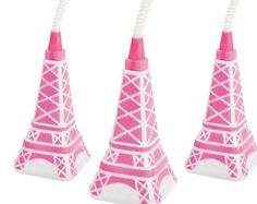 this listing is for 6 Perfectly Paris Hanging Swirls  Ooo la la!!!!!!!  Hosting a Perfectly Paris party is as easy as un, deux, trois with these easy ceiling decorations. Hang these pretty party decorations and create a sweet scene in an instant. Includes Eiffel Tower, heart, fleur-de-lis and circle cutouts. Add these ceiling decorations to your DIY photo booth for the perfect Parisian flair! Each swirl features a 3 - 7 1/2 x 6 1/2 - 7 1/2 cutout and hangs approx. 33. Paper. **...
