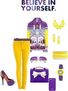 """""""Believe in yourself"""" by suntanbabe on Polyvore"""