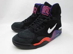 Nike Air Force 180 High - Black-White-Court Purple-Rave Pink (Sample)