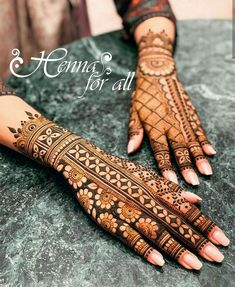 Mehndi is used for decorating hands of women during their marriage, Teej, Karva Chauth. Here are latest mehndi designs that are trending in the world. Easy Mehndi Designs, Henna Hand Designs, Dulhan Mehndi Designs, Latest Mehndi Designs, Mehndi Designs Finger, Mehndi Designs For Girls, Wedding Mehndi Designs, Mehndi Designs For Fingers, Henna Tattoo Designs