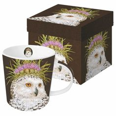 Paperproducts Design Featuring The Art of Vicki Sawyer Snow Queen Gift Boxed New Bone China Mug, Multicolor, 13.5 oz -- Click image to review more details. (This is an affiliate link and I receive a commission for the sales)