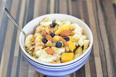 Frischkorngericht Basics Clean Recipes, Healthy Recipes, Healthy Food, Fruit Salad, Acai Bowl, Baking, Breakfast, Desserts, Eat Clean Breakfast