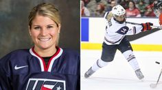 Brianna Decker is making her first Olympic appearance, after winning the 2012 Patty Kazmaier Award as women's college hockey's top player at the University of Wisconsin. 2018 Winter Olympics, Winter Olympic Games, No Boys Allowed, Usa Hockey, University Of Wisconsin, Hockey Players, Russia, Best Friends, College