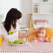 20 ways to eat better post-baby www.thebump.com