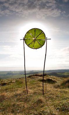richard shilling - dock leaf sun circle http://richardshilling.co.uk/