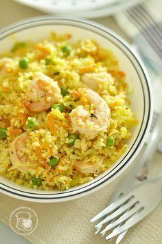 couscous_camarões3 Veggie Recipes, Seafood Recipes, Cooking Recipes, Healthy Recipes, Healthy Munchies, Good Food, Yummy Food, Eastern Cuisine, Portuguese Recipes