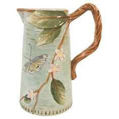 Toulouse Pitcher...a pretty new majolica
