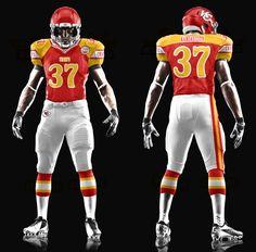 Kansas City Chiefs 51 http://www.charlessollarsconcepts.com/kansas-city-chiefs-red-uniforms-concepts/ #nfl #chiefs #nike
