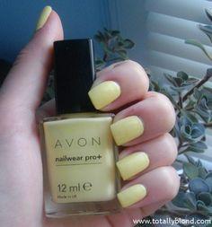 Лак для ногтей Avon Nailwear Pro+ оттенка Lemon Sugar (Эксперт цвета). Отзыв