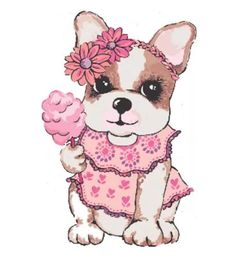 kit imprimible perros simones + candy bar Cute Animals Images, Animals And Pets, Boston Terrier Kunst, Bulldog Clipart, Images Vintage, Puppy Images, Pictures To Draw, Dog Art, Cute Drawings